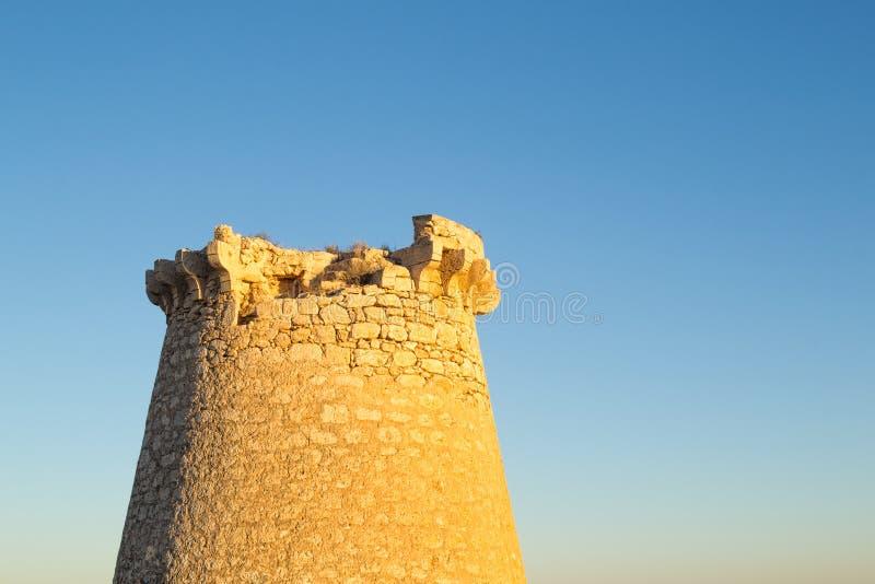 Oude toren stock foto