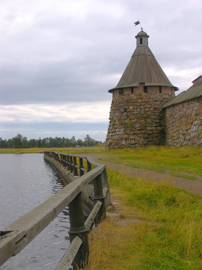 Oude toren royalty-vrije stock fotografie