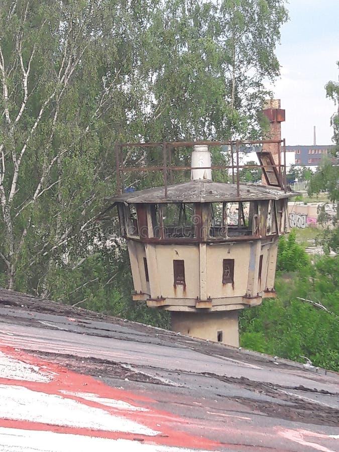 Oude toren stock afbeelding