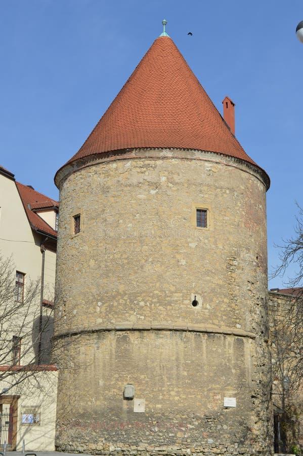 Download Oude Toren In Zagreb, Kroatië Stock Foto - Afbeelding bestaande uit zagreb, building: 39108112