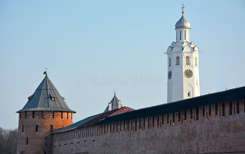 Download Oude Torens Van Novgorod Het Kremlin Stock Foto - Afbeelding bestaande uit monument, fort: 54084874