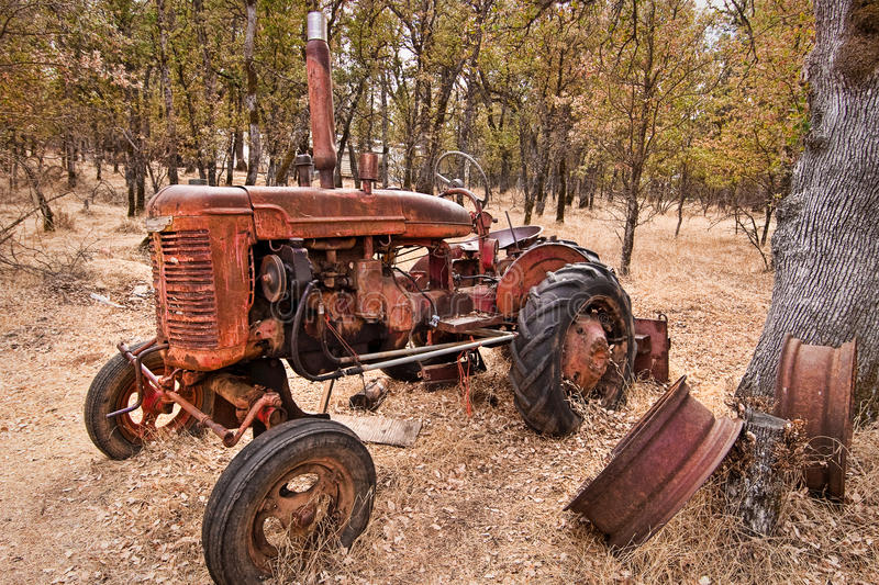 Oude Tractor #2 stock foto