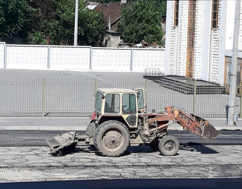 Oude Tractor Speciale machines van pastPhoto royalty-vrije stock foto