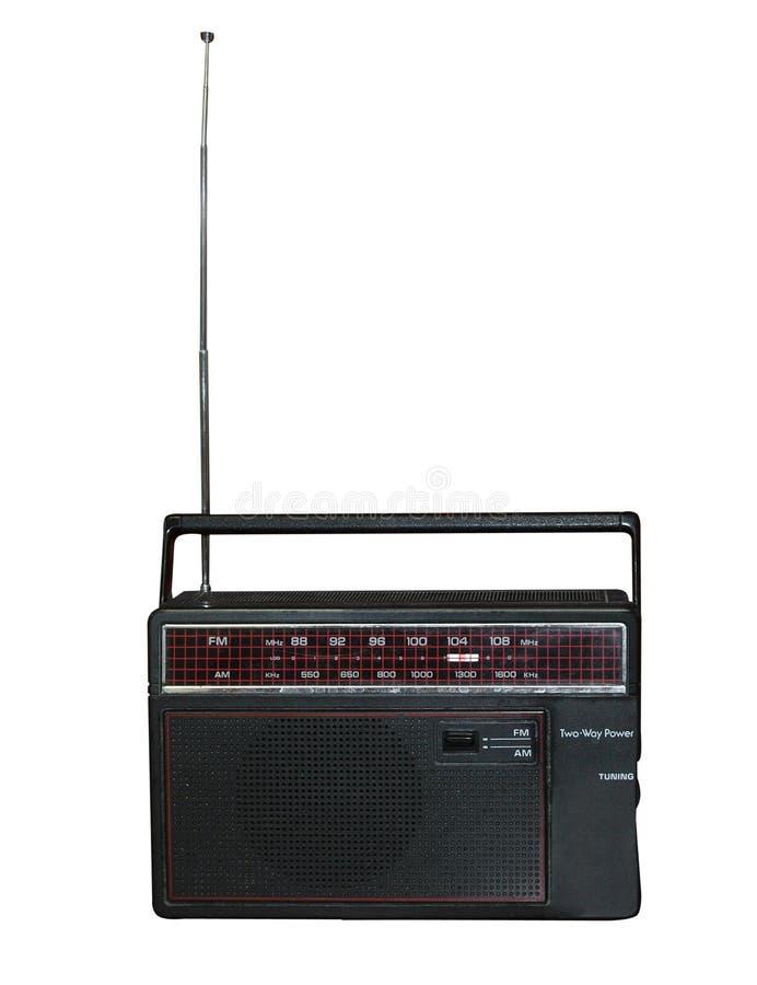Oude Transistorradio royalty-vrije stock fotografie
