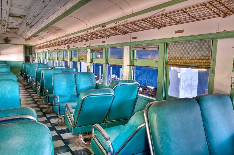 Oude treinwagen royalty-vrije stock foto