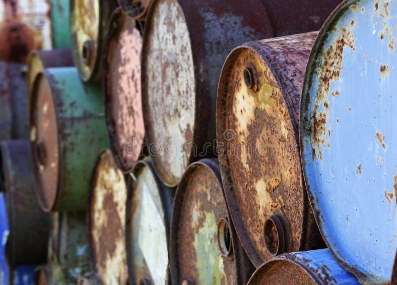 Oude trommels stock fotografie