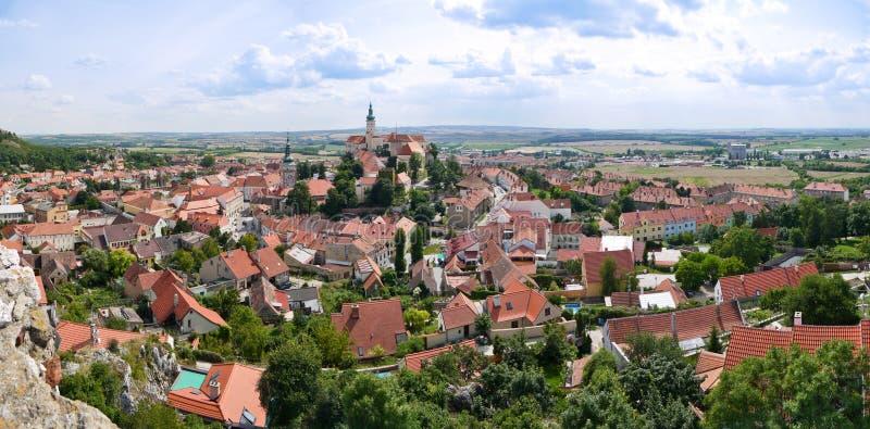 Oude Tsjechische stad royalty-vrije stock afbeeldingen