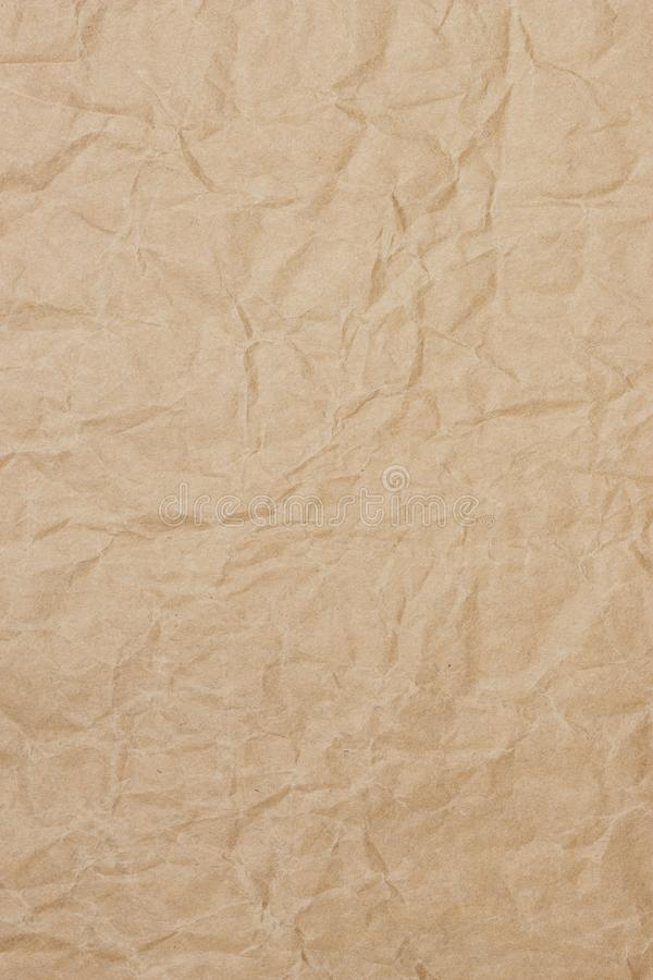 Oude uitstekende bruine paginadocument textuur of achtergrond royalty-vrije stock foto