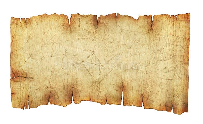 Oude uitstekende document rolachtergrond stock afbeeldingen
