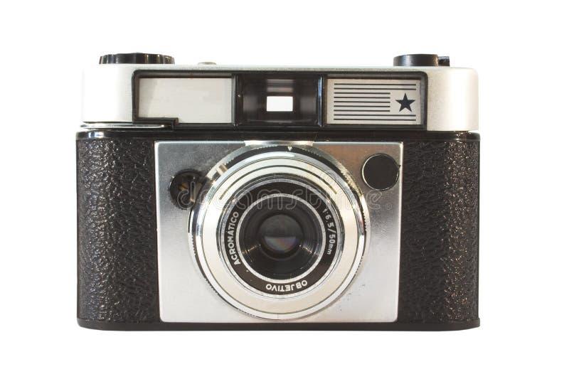 Oude, uitstekende filmcamera stock afbeelding