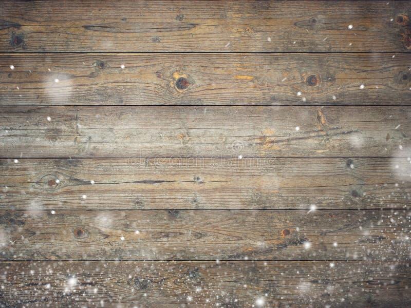 Oude uitstekende houten achtergrond stock afbeelding