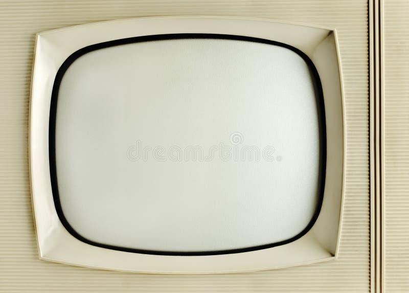 Oude Uitstekende Televisie stock foto's