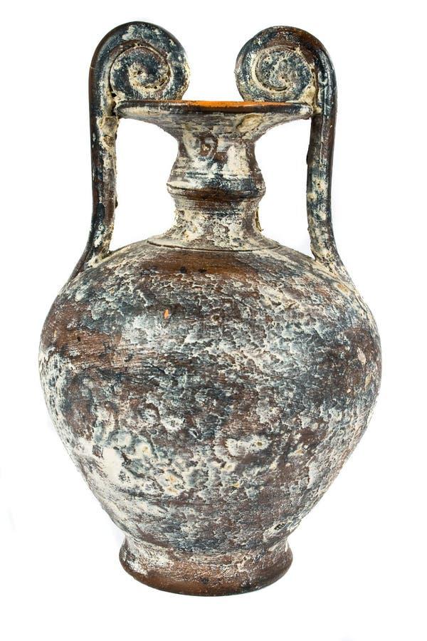 Oude vaas van Egypte royalty-vrije stock fotografie