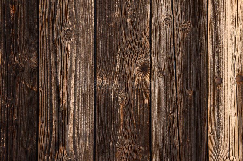 Oude van de Schuur Houten Vloer Textuur Als achtergrond stock afbeelding