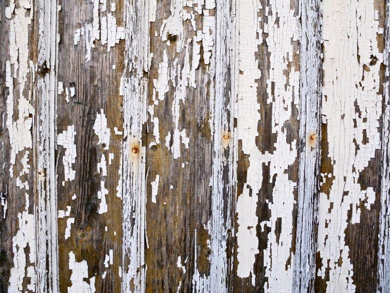 Oude verf op een muur royalty-vrije stock foto