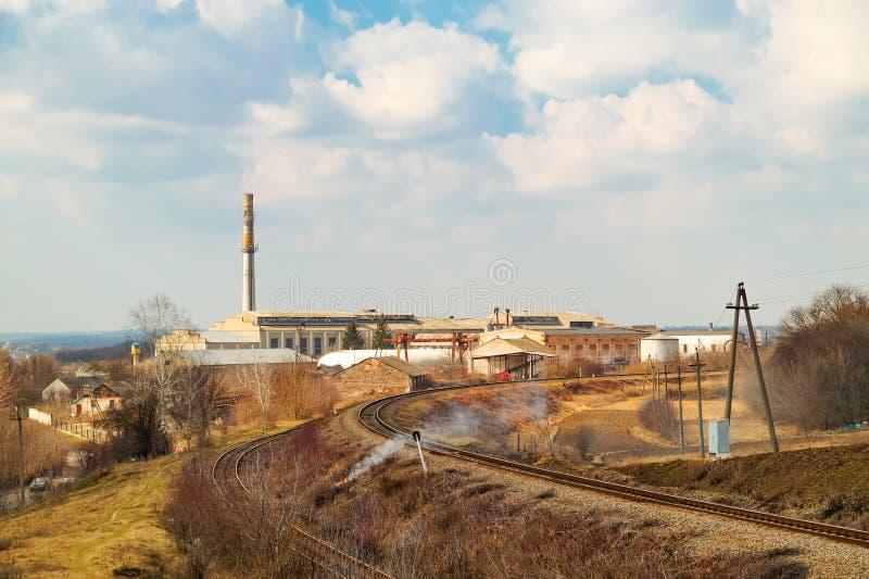 Oude verlaten suikermolen of fabriek, nu royalty-vrije stock foto
