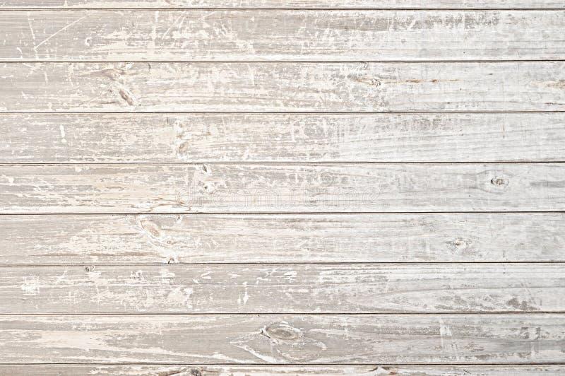 Oude verontruste lichte houten textuurachtergrond royalty-vrije stock afbeelding