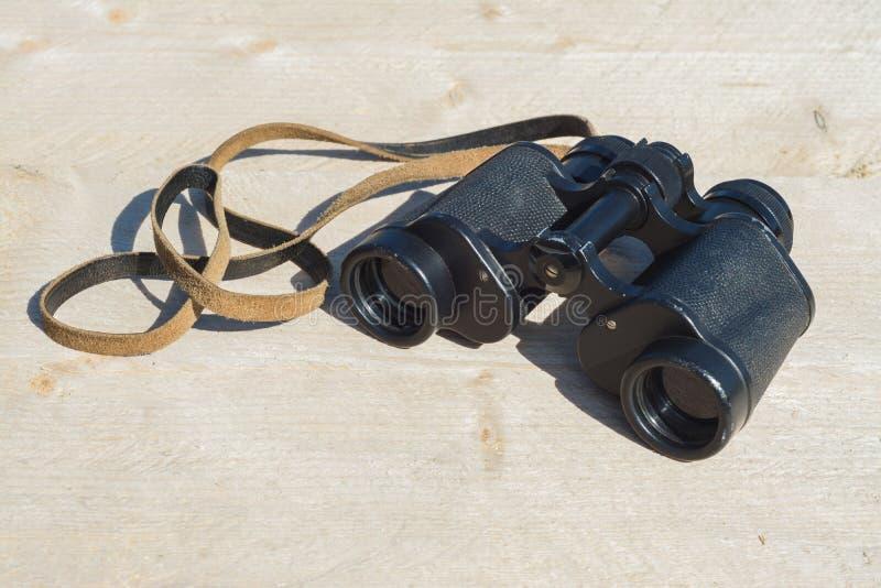 Oude verrekijkers stock foto