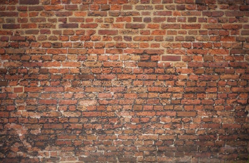 Oude Victoriaanse bakstenen muur royalty-vrije stock fotografie