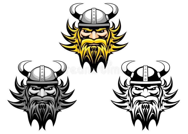 Oude Viking vector illustratie