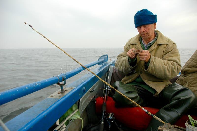 Oude visser stock afbeeldingen