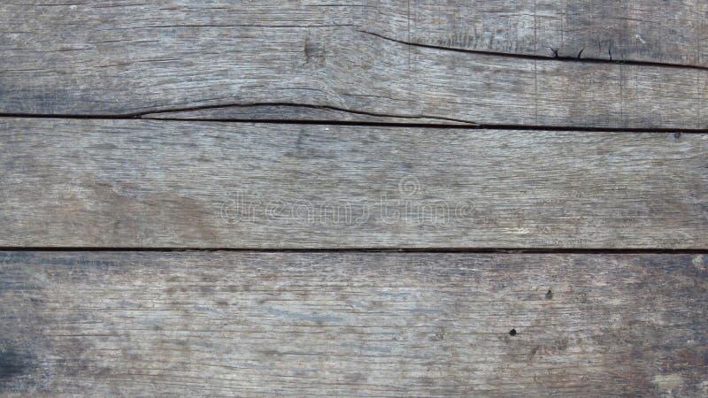 Oude Vloer Gestreepte Planken Uitstekend Grey Timber stock afbeelding
