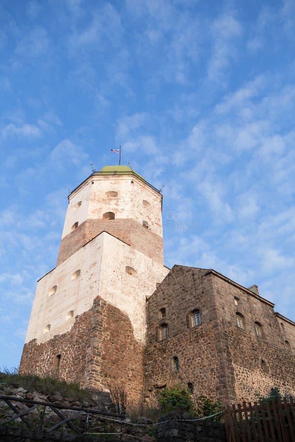 Oude Vyborg stock afbeeldingen