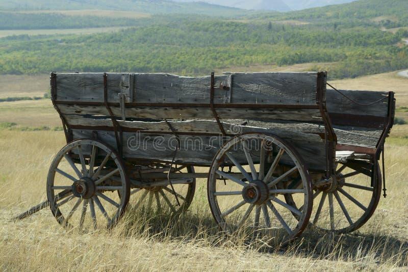 Oude wagen. royalty-vrije stock foto