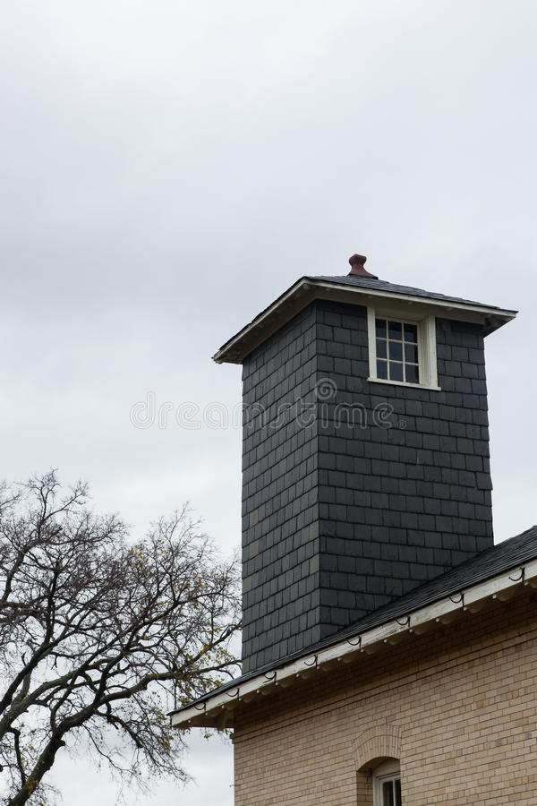 Oude Watchtower stock foto's