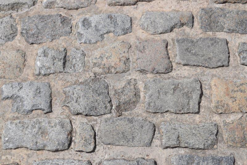 Oude weg van steen stock afbeelding