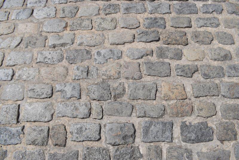 Oude weg van steen royalty-vrije stock fotografie