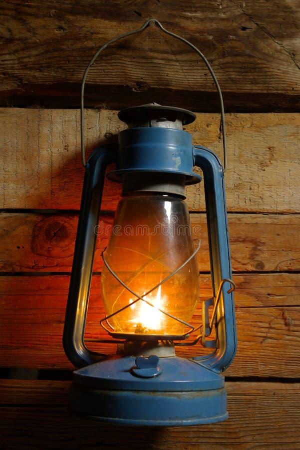 Oude windlamp stock fotografie