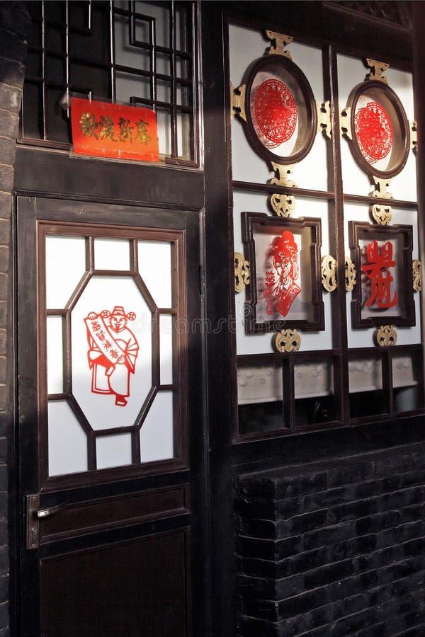 Oude woonplaats royalty-vrije stock foto
