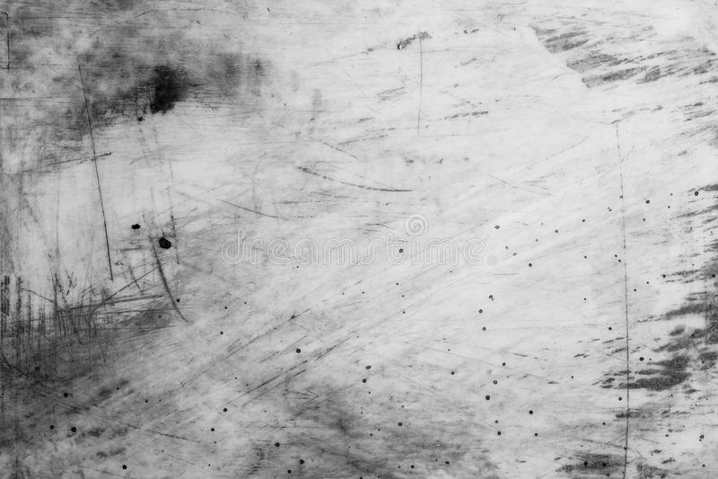 Oude zwart-wit grungeachtergrond stock illustratie