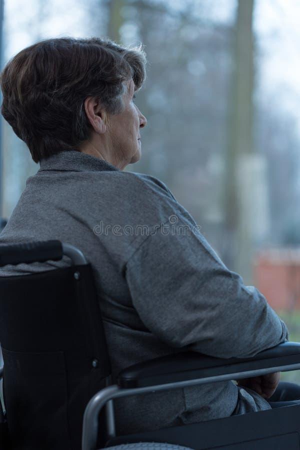 Oudere vrouw royalty-vrije stock foto's