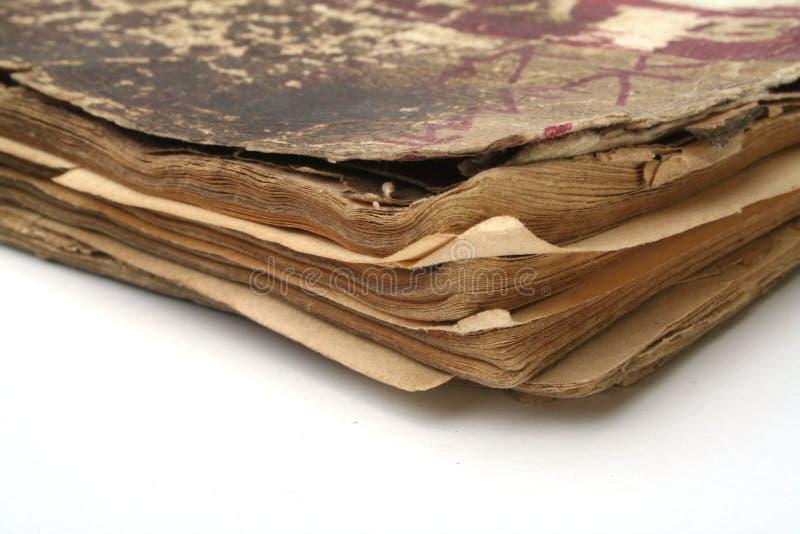 Ouderwets boek royalty-vrije stock afbeelding