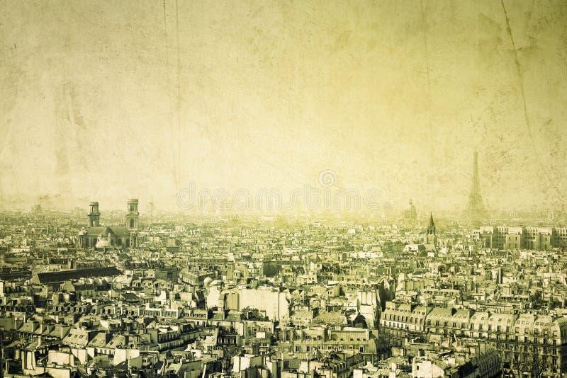 Ouderwets Parijs royalty-vrije stock foto's