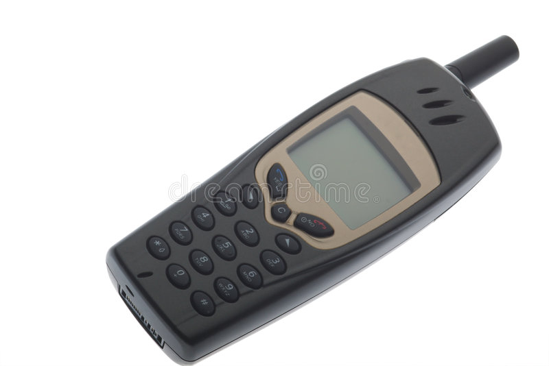 Ouderwetse callphone royalty-vrije stock fotografie