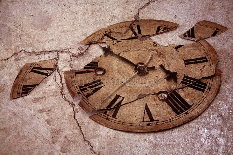 Ouderwetse klok stock fotografie