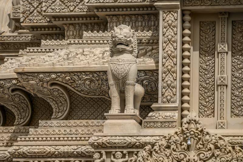 Oudong cambodia de Wat imagens de stock