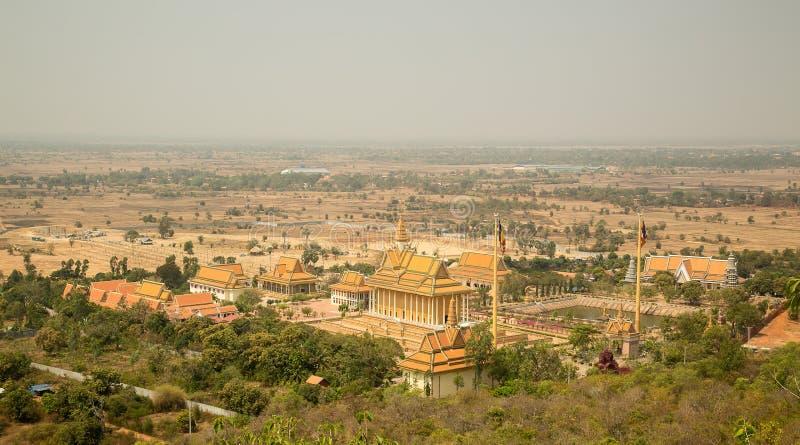 Oudong, centro del budista de Vipassana Dhura fotos de archivo libres de regalías