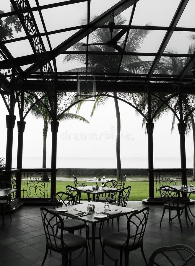 Download Oudoor Al Fresco Dining Area In Heritage Hotel Stock Image - Image: 27044475