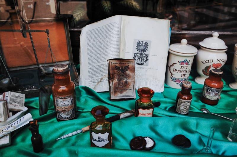 Oudste Apotheek ZAGREB royalty-vrije stock afbeeldingen