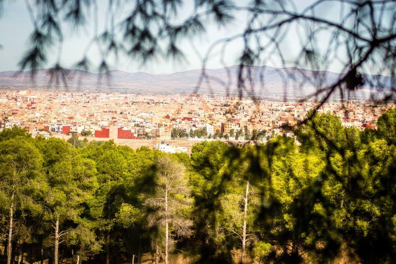 Oujda, Marokko stock foto
