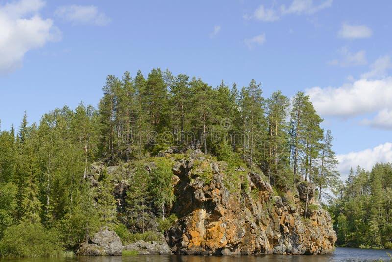 Oulanka park narodowy fotografia stock