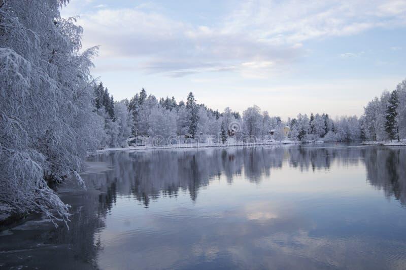 oulujoki 图库摄影