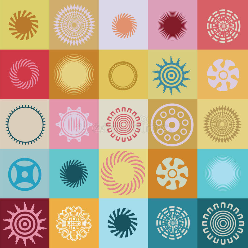 Download Ound Elements And Symbols With Special Sense Stock Vector - Image: 27721645