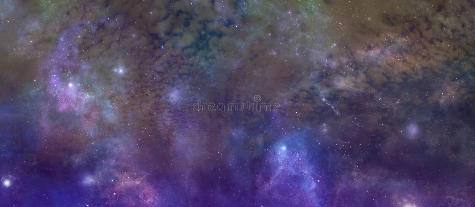 Our Beautiful Unexplored and Exciting Universe stock photography