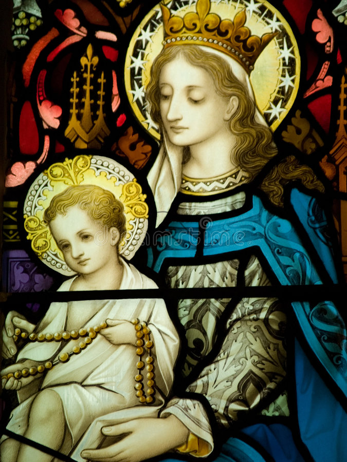 Free Our Lady Stock Image - 5853511