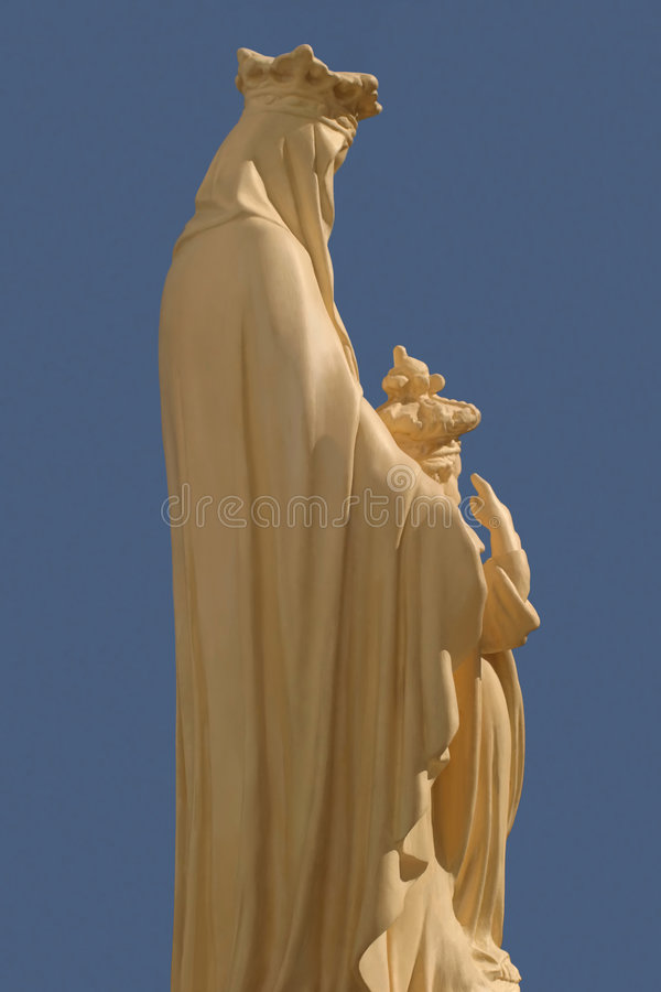 Our Lady and Child royalty free stock images